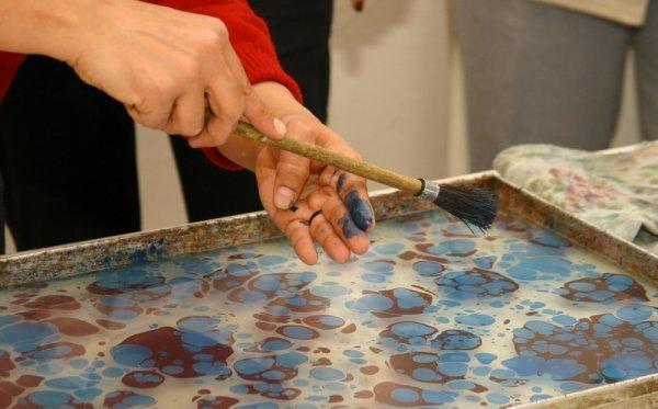 Ebru Malerei